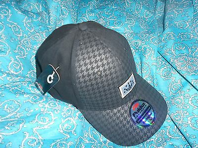 Brand New Scotty Cameron Black Houndstooth  Hat L/xl A Great Christmas Gift Idea