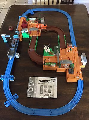 Thomas at the Timber Yard  Complete Set And Instructions Thomas The Train