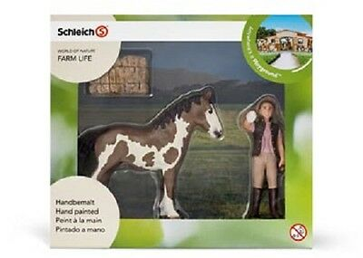 Schleich Model Horse Play Set 21028 - Foal Cleaning Set
