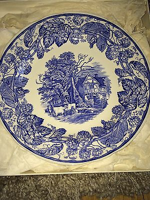 Spode Blue And White Plate/the Spode Blue Room Collection