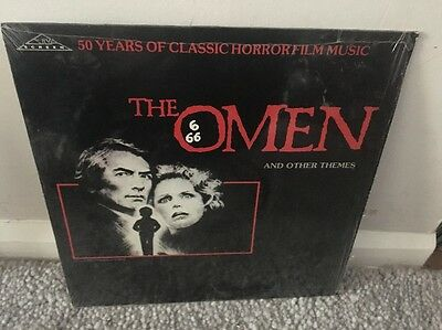 The Omen And Other Themes Lp Silva Screen /rare Still With Shrink On Sleeve