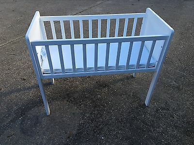 Mothercare Hyde Crib White for newborn baby