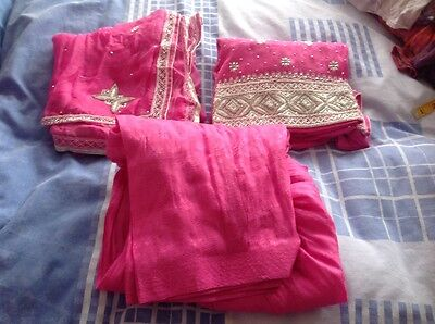 Indian Pakistan party / wedding suit ( 3pc set )