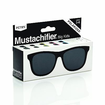 Mustachifier Baby Opticals Black Ages 0-2