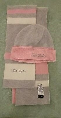 Ted Baker scarf and hat