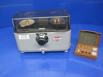Torbal DRX-3 Mechanical Balance Scale w/Weights WORKING