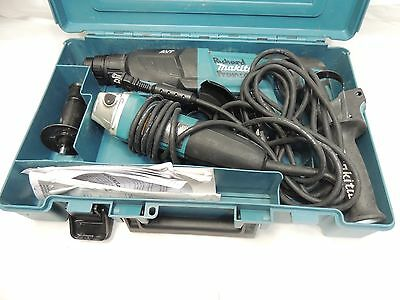"Makita HR2641X1 Rotary Hammer with Case and 4-1/2"" Angle Grinder"
