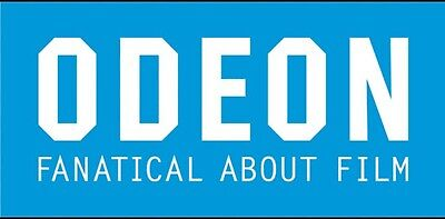 4 x Odeon Cinema Tickets (Adult) Voucher Issued Very Quickly*