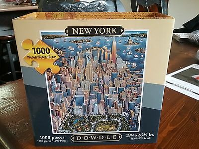1000 pce puzzle jigsaw new york