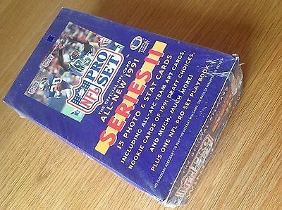 UNOPENED Box Pro Set 1991 Series 2 NFL American Football TRADING CARDS