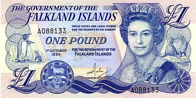 Billet de 1 pound Falkland Islands - 01/10/1984 - Pick 13 - UNC