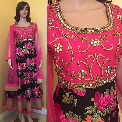 Readymade Anarkali Suit.UK SIZE:6-8 For Girls.(bust size-35,waist-31,length-47).