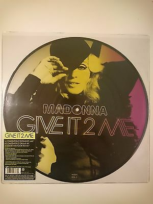 """Madonna - Give It 2 Me 12"""" picture disc"""