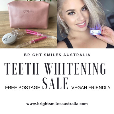 Teeth Whitening Kit Advanced 7 Day Dental Grade Formula Bright Smiles Australia
