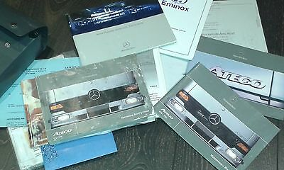 Mercedes Atego Truck Operating Manuals Book Pack 2005