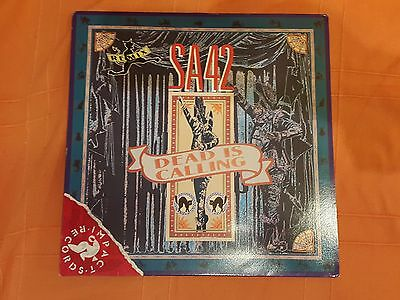 S.a. 42 Signal Aout - Dead Is Calling Remix - Maxi Single Near Mint Belgium