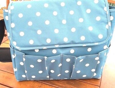 Reduced Pre Packed Luxury Polka Dot Maternity/changing bag Mum & Baby Girl