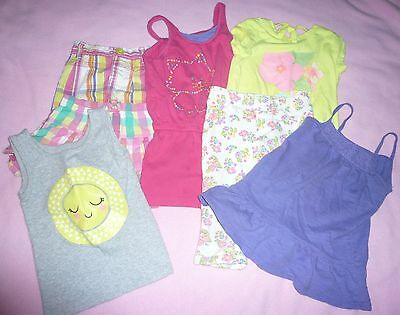 Lot of 7 Items Toddler Girls Size 3T Clothes