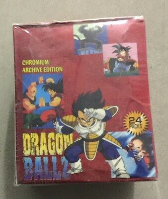 Dragon Ball Z Chromium Archive Edition Trading Cards Factory Sealed Box
