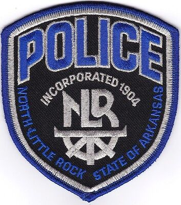North Little Rock Police Arkansas Police Patch NEW!!