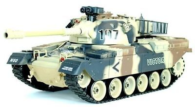 Battle Tank 1/20 Airsoft BB RC Tank - USA M60 (Great Unlimited Fun Xmas Gift)