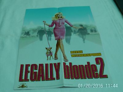 Reese Witherspoon  -  Legally Blonde 2 Poster