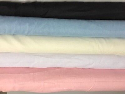 100% Cotton Muslin Fabric 110/112cm Wide - Baby Wrap - Food Straining -