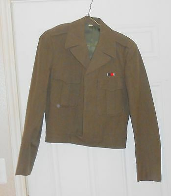 Vintage Us Army Korean War Issue  Ike Eisenhower Jacket Great Condition Wow!!!