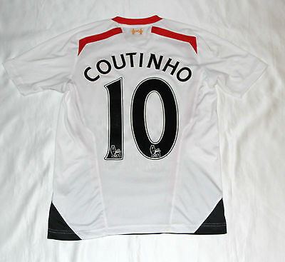 Philippe Coutinho Signed Liverpool Football Club Shirt with COA