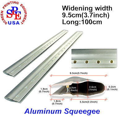 1M Aluminum Squeegee,Silk Screen,Screen Printing Squeegee Cutted Free Of Charge