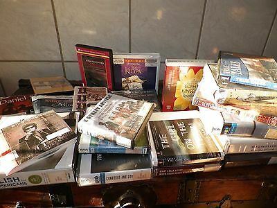 LOT 20 CD AUDIO BOOKS Adult Life Loss, Work Success, Nonfiction, Biography MP3