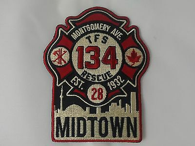 Toronto Fire Station 134 Patch ** MIDTOWN ** NEWLY RELEASED **