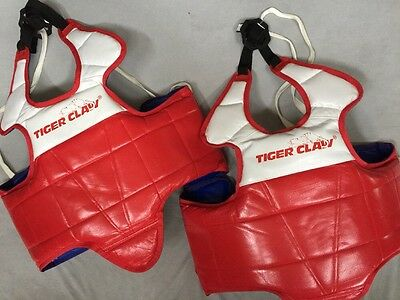 Tiger Claw Chest Guard Sparring Martial Arts Sizes: CHL or S. FREE SHIPPING