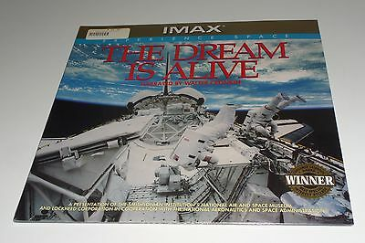 RARE IMAX THE DREAM IS ALIVE EXPERIENCE SPACE Laser Disc USA NEW