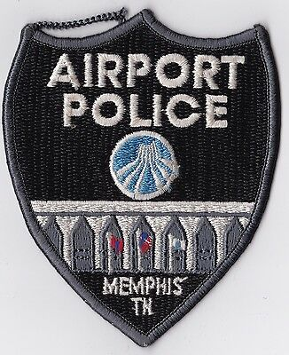 Memphis Airport Police Patch Tennessee TN used Vintage old !!!