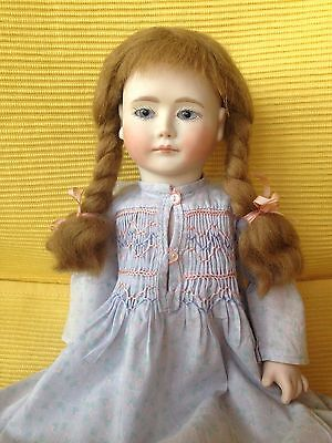 "BISQUE 13"" ART DOLL ROCHE _Colette_TAG LYNNE MICHAEL 1985 BALL JOINT"