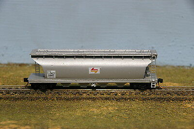 Australian N Scale - NSWGR - NGTY - Wheat Wagon - PTC Candy  livery