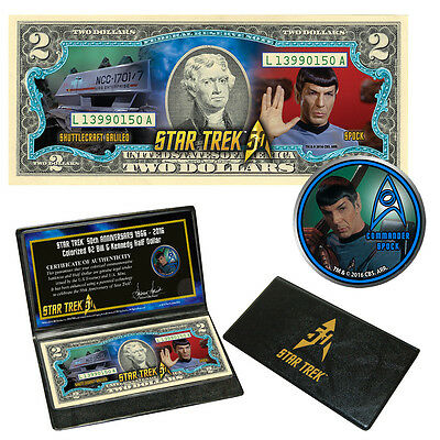 "Star Trek""  Coin & Currency Collection - SPOCK"