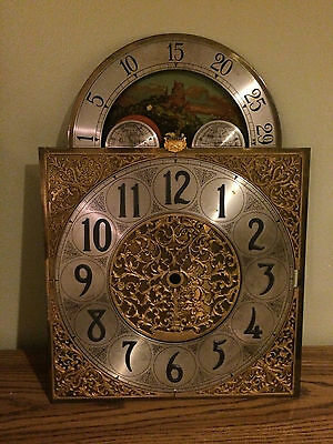 Revere Hall Clock Face Dial With Moon Phase