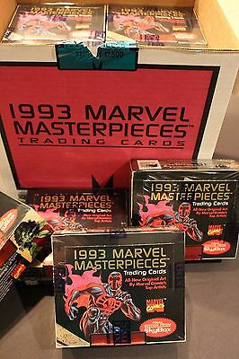 1993 Skybox - Marvel Masterpieces Trading Cards - Factory Sealed Box Comics Art
