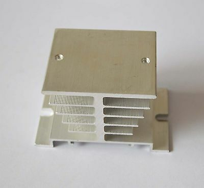 1pcs White Heat Sink for Solid State Relay SSR