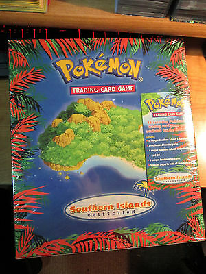 Sealed COMPLETE Pokemon SOUTHERN ISLAND Card Promo COLLECTION Binder Neo Pack EX