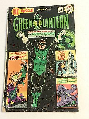 M- GREEN LANTERN DC Comic No. 20 Issue Mar 1976 Challenge from 5700 AD Special