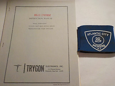 Trygon Phr60-5B0V Silicon Half Rack Module Series Instruction Manual