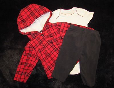 LN 3pc Set - CARTER'S - Baby Girl Size 6 Months