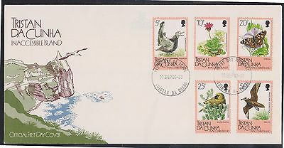 (WWG-145) 1986 Tristan Da Cunha FDC 5stamps Inaccessible Island