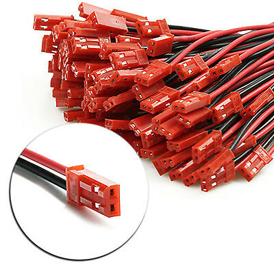 High 10 Pairs 22AWG Plug JST socket Connector Cable Wire Line 10cm Male Female