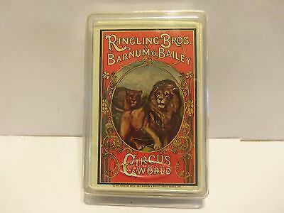 1973 Circus Ringling Bros And Barnum & Bailey  Sealed Deck Poker Cards.