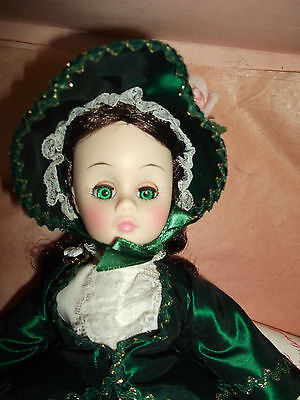 Madame Alexander Scarlett O'Hara Gone with the Wind Doll 1385 MIB Green Dress