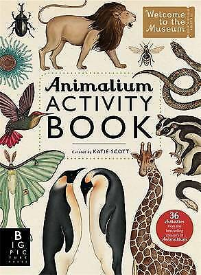 Animalium Activity Book (Welcome to the Museum) by Katie Scott Paperback NEW